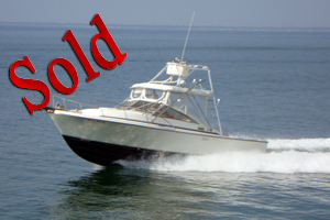 1985 Blackfin 29' Combi Fisherman, sale, lease