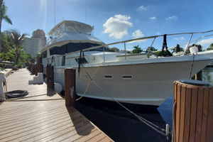 1989 70 Hatteras, lease, yacht sale, donate boat