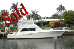 1990 53' Viking Yachts Convertible, sale, lease