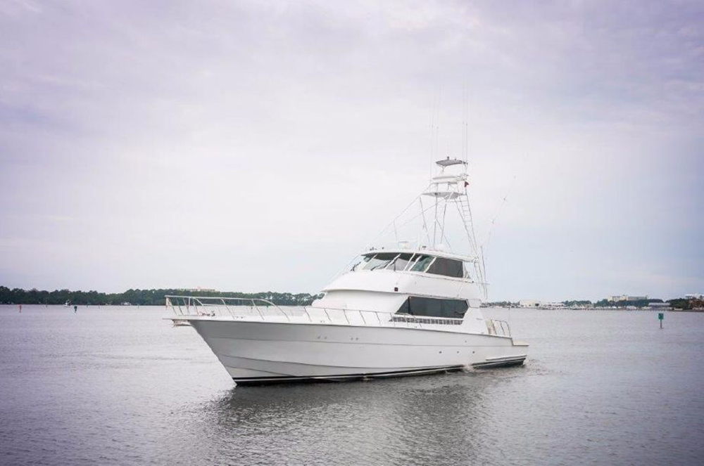 1994 82' Hatteras Convertible for sale, lease, donation