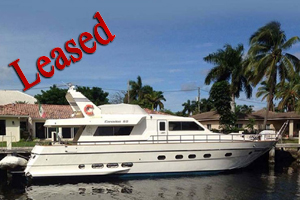 2001 60 Canados, lease, yacht sale, donate yacht