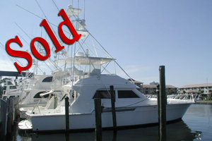 1997 54' Bertram Convertible, yachts for sale