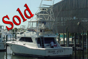 1988 47' Hylas Convertible, boat yacht donation, Florida, USA